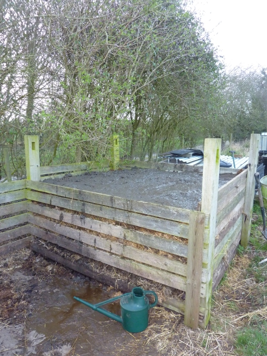 Finished Compost Heap